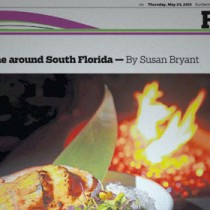 Sun Sentinel – Dining Scene